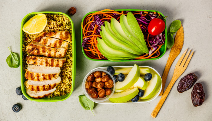 Meal Prep healthy eating habits tips bodyviva