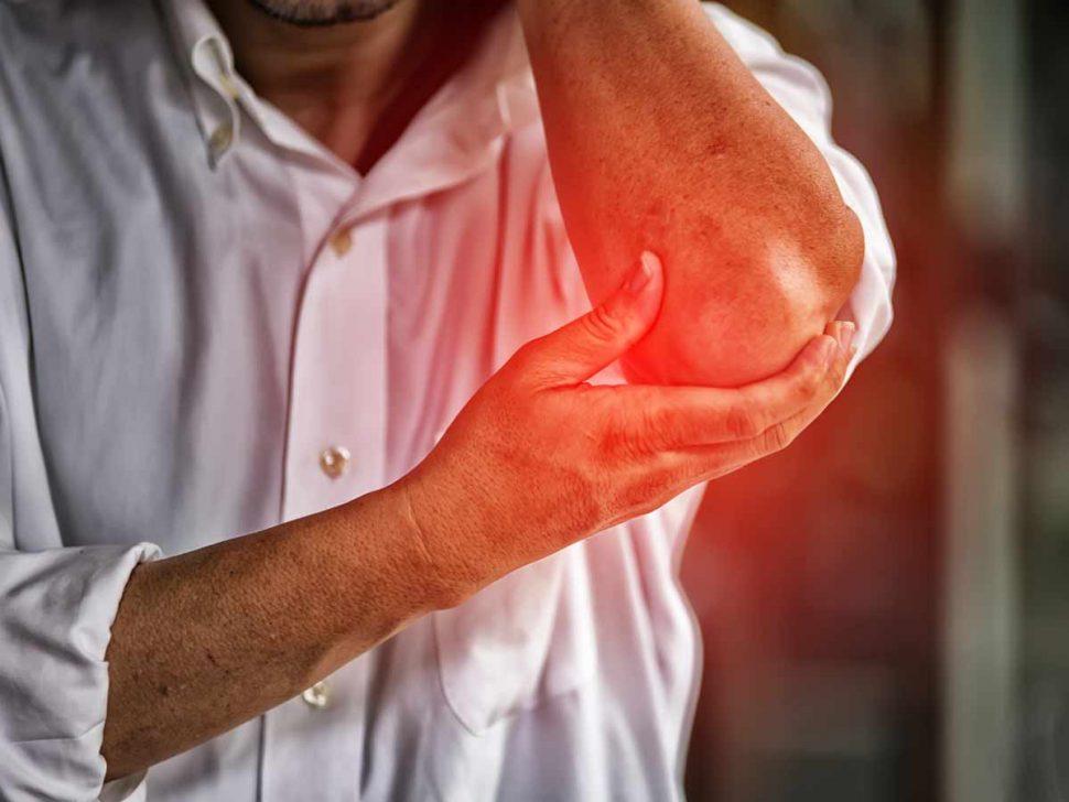 elbow pain Golfers Elbow (Medial Epicondylalgia; Medial Epicondylitis)