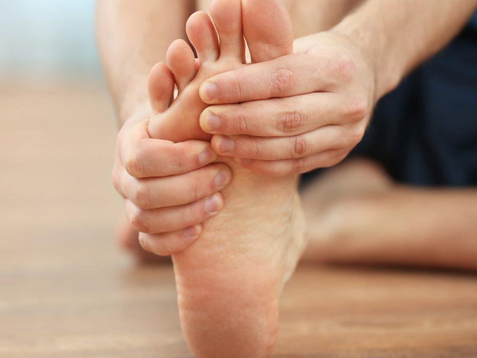 foot pain Morton's neuroma (Interdigital perineural fibrosis)