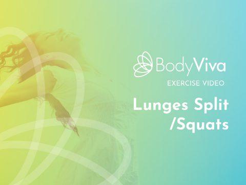 BodyViva exercise video Lunges Split/Squats