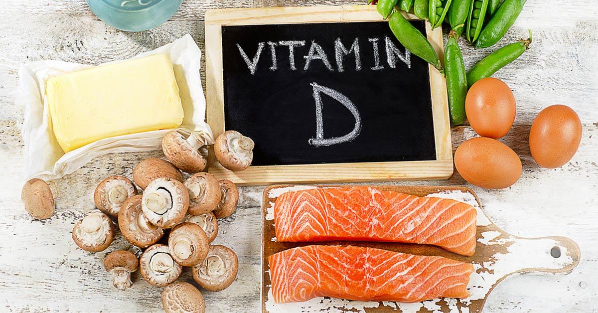 vitamin d nutrition for healthy bones salmon, vegetables BodyViva