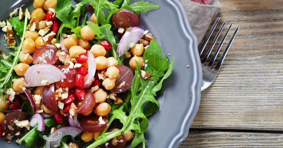 chickpea salad healthy meal BodyViva