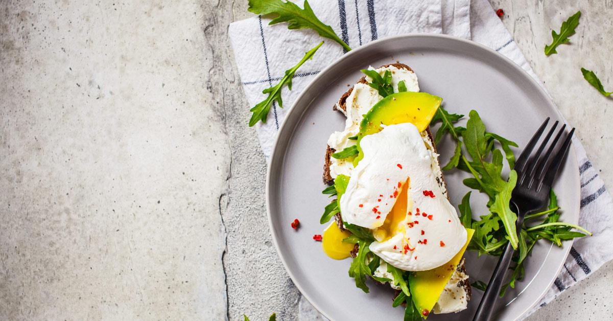 avocado poached egg toast healthy meal BodyViva