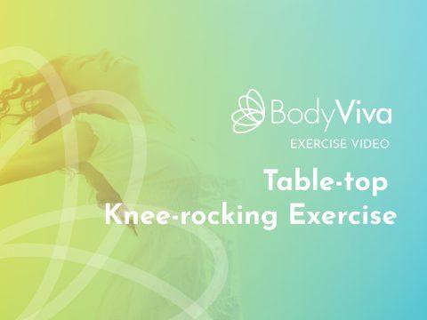 Table-top Knee-rocking Exercise Pilates BodyViva
