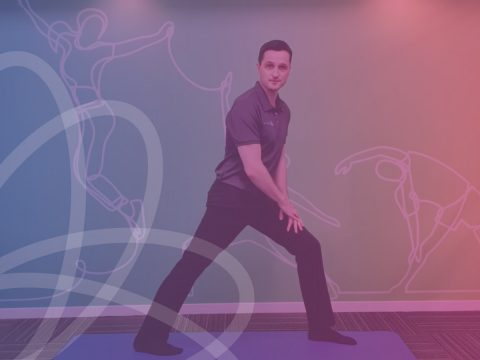 calf stretch BodyViva stretches