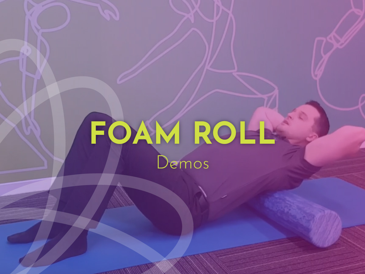 Pain relieving tips foam roll exercises BodyViva Physiotherapy tips