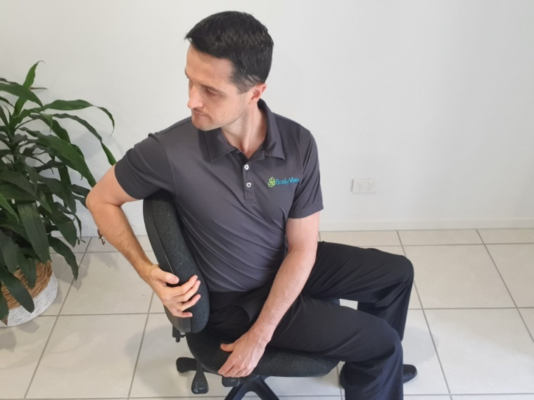 back rotation, exercises, physiotherapy