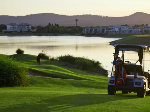 golf cart on lake BodyViva Local Activities to Help you Stay Active