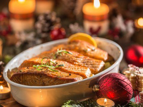 christmas salmon