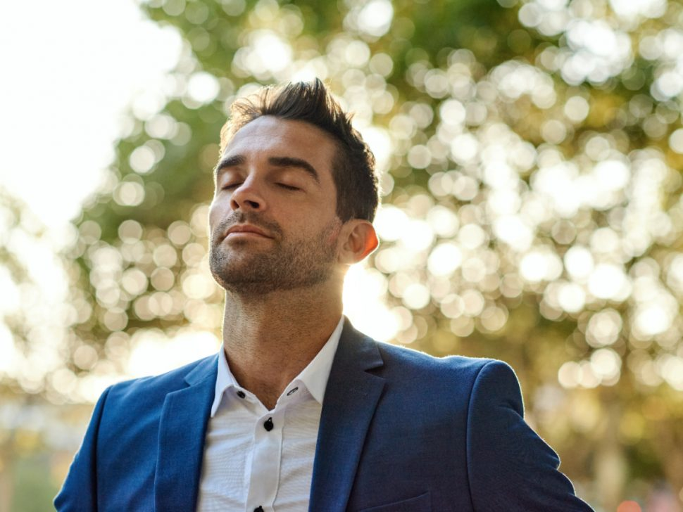 Man Taking Deep Breath breathing from base of lungs BodyViva