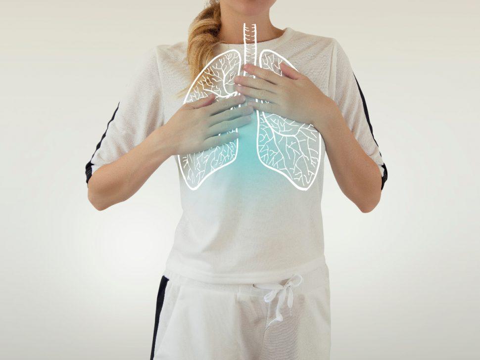 Deep Breathing Exercise Diagram to reduce body aches BodyViva
